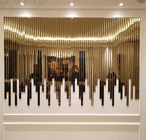 آینه دکوراتیو طرح آبشاری