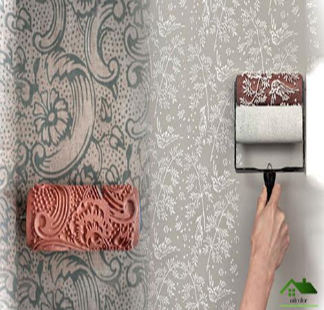 رنگ طرح کاغذ دیواری